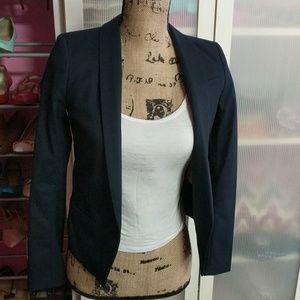H&M Navy Blue Blazer sz 2